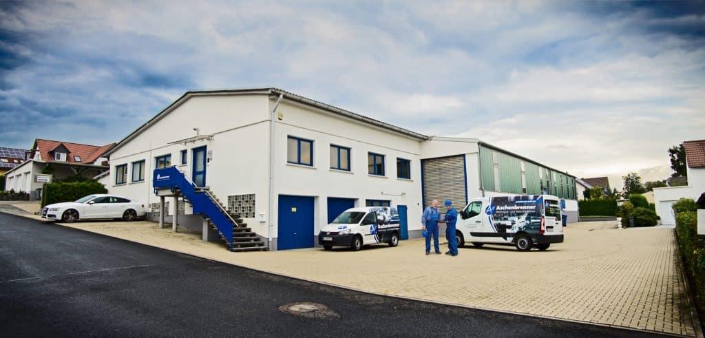 Firmengebäude der Aschenbrenner Werkzeug- und Maschinenbau GmbH